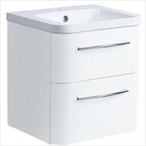 Roper Rhodes - System 500mm Wall Mounted Double Drawer