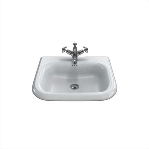 Clearwater - Small Traditional Basin 550x470mm