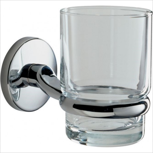 Roper Rhodes Accessories - Lincoln Glass Tumbler & Holder