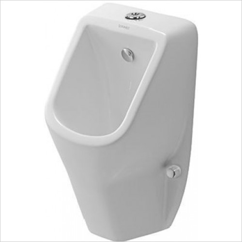 Duravit - Bathrooms - D-Code Urinal With Nozzle Visible Inlet