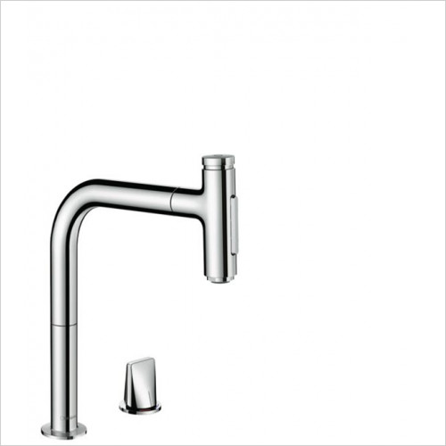 Hansgrohe - Bathrooms - M7120-H200 - 2-Hole Single Lvr Kitchen Mixer With P-O Spray