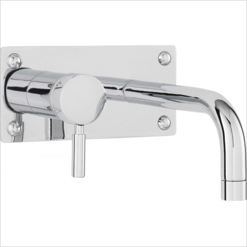 Hudson reed - Tec Single Lever Wall Mounted Basin Bath Filler