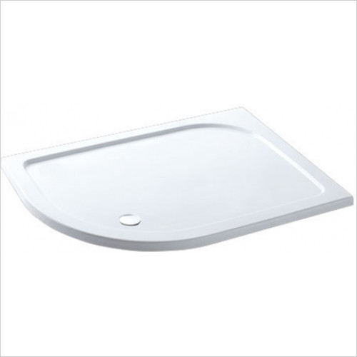 Eastbrook - Volente Offset Quadrant ABS Stone Resin Tray 1000 x 700mm LH