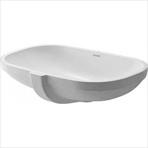 Duravit - Bathrooms - D-Code Undercounter Basin 490mm