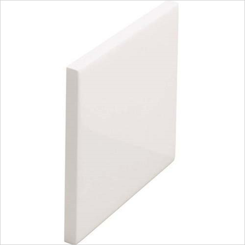 Cleargreen - Eco Round End Panel 700 x 525mm