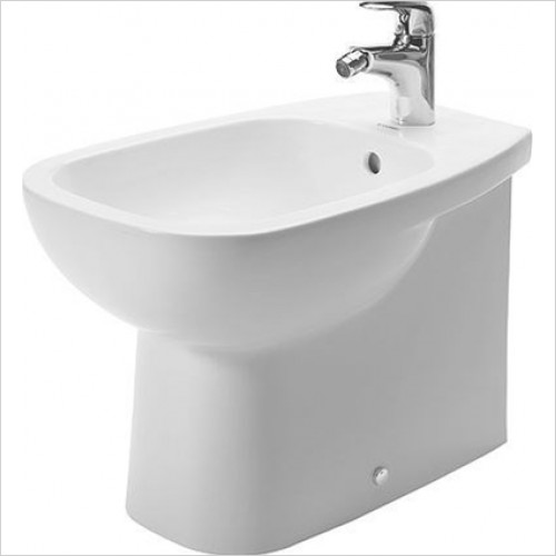 Duravit - Bathrooms - D-Code Bidet Floorstanding 560mm 1TH Back To Wall
