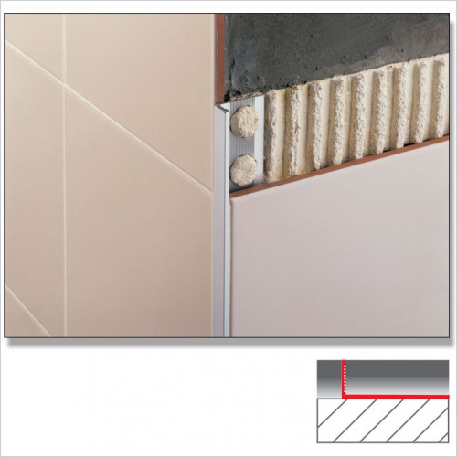 Abacus - Flat Tile Trim 12mm