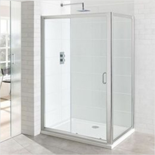 Vantage Easy Clean Sliding Door 1700mm