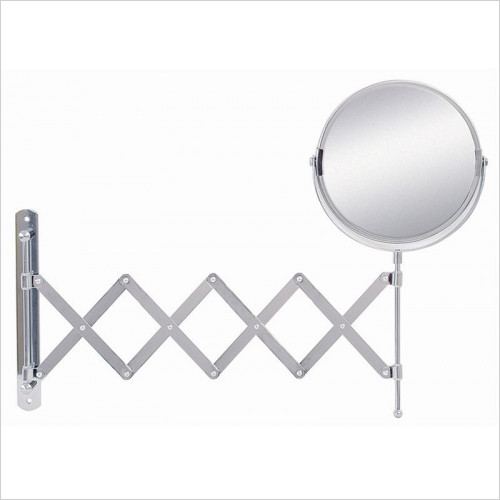 Reversible Extendable Mag Wall Mirror