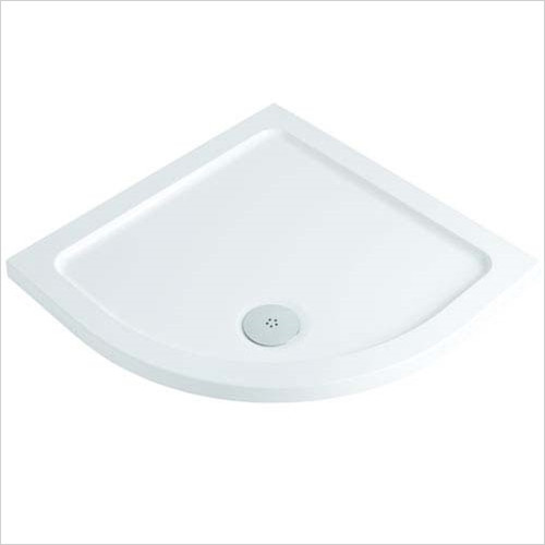 ABS Stone Resin Quadrant Shower Tray 800 x 800mm