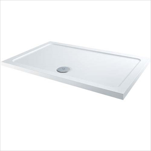 ABS Stone Resin Rectangular Shower Tray 1100 x 700mm