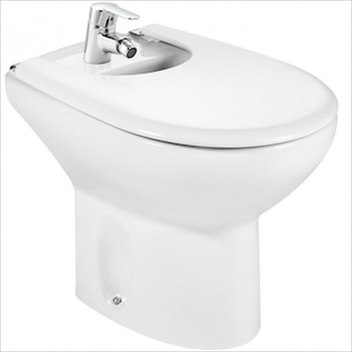 Roca - Laura Floorstanding Bidet 1TH