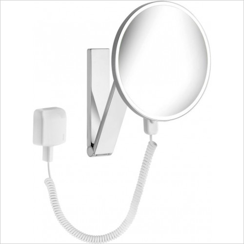 Ilook-Move Cosmetic Mirror Wall Mounted/Round/Lighted