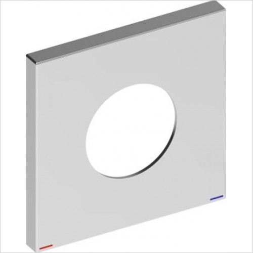 IXMO Decorative Disc For Single Lever Mixer/Square 105mm