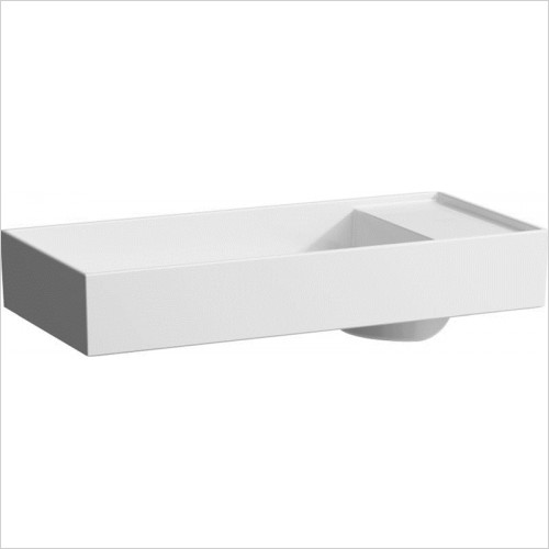 Kartell Washbasin Bowl With Tapbank 750 x 350mm 3TH